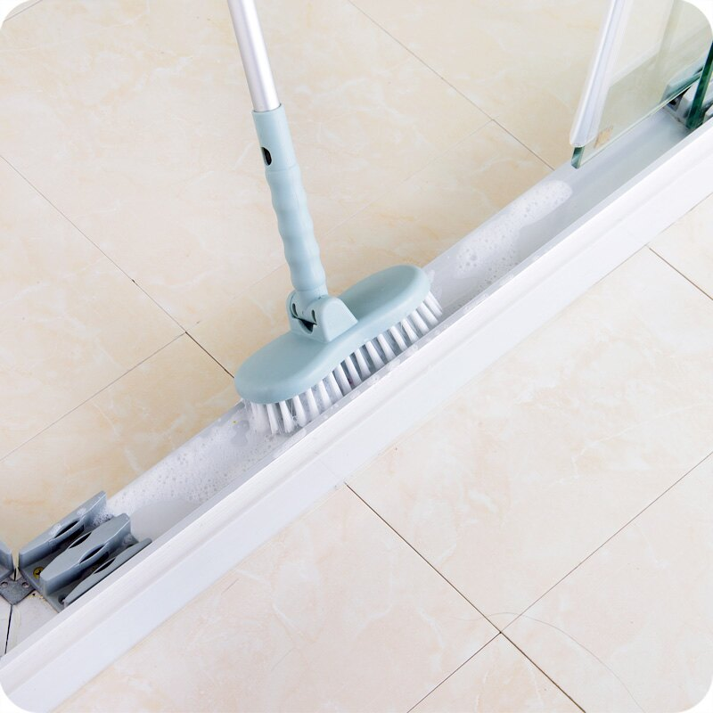 11.11 浴室地板刷硬毛長柄清潔刷衛生間墻刷
