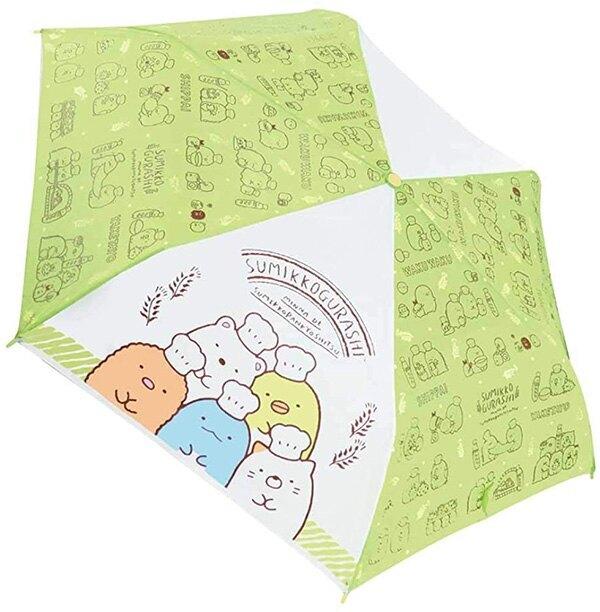 【角落生物 折傘】角落生物 耐風加工 折傘 雨傘 輕便 綠 小夥伴 日本正版 該該貝比日本精品