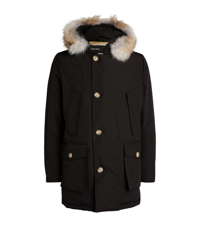 Woolrich Coyote Fur-Trimmed Arctic Parka Jacket
