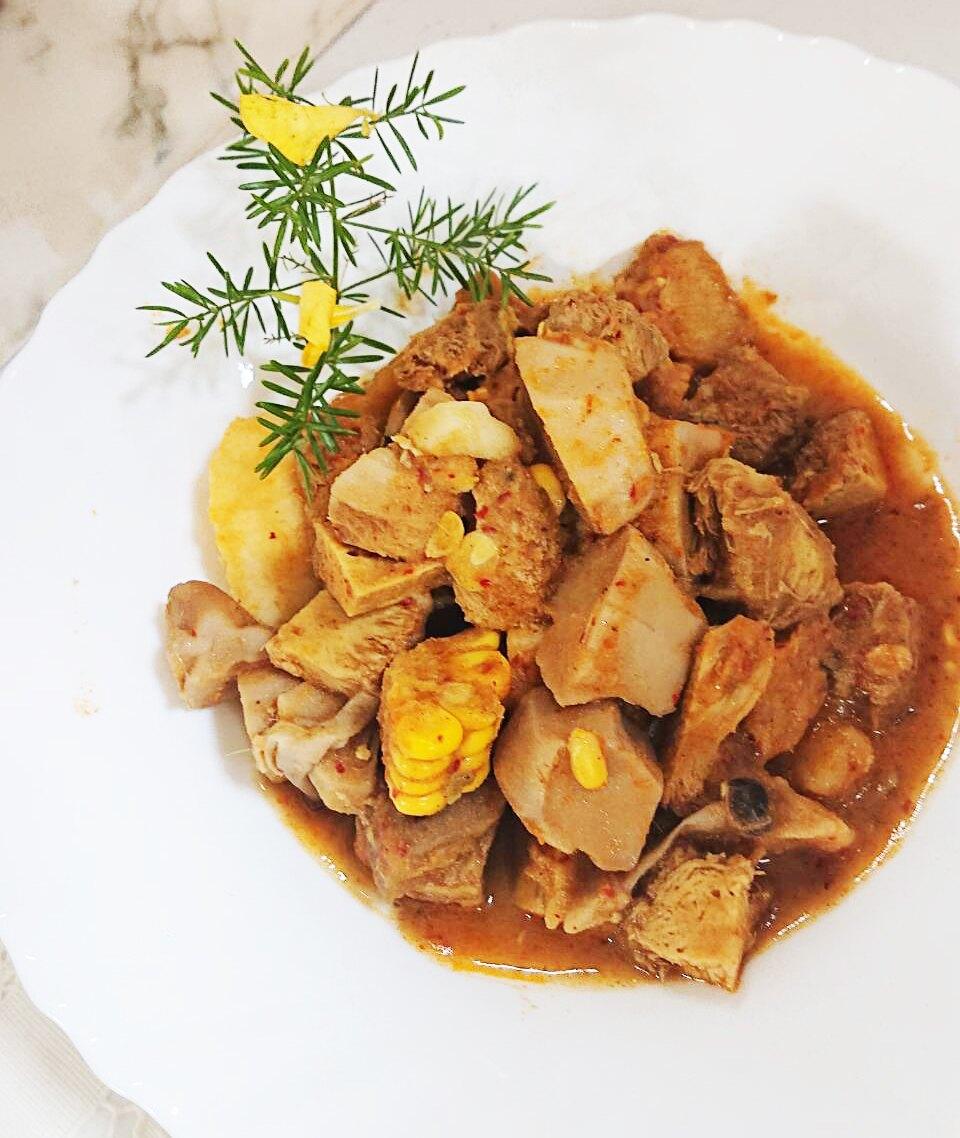 泰式猴頭菇紅咖哩 -   300g10g (約2-3人份)