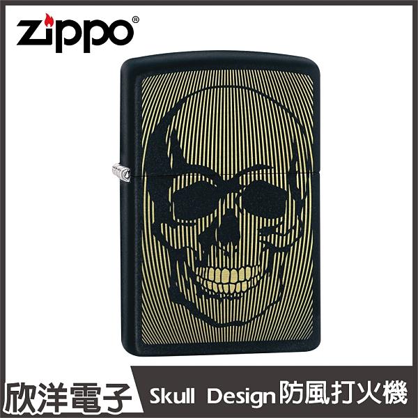 Zippo Skull Design 防風打火機(49216)