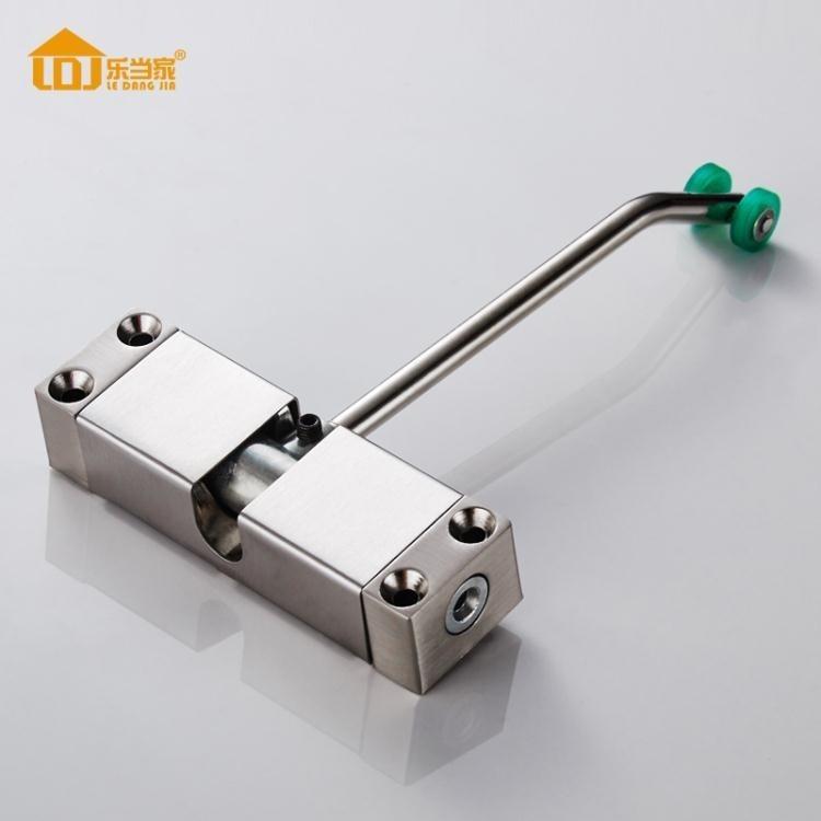 閉門器 自動關門緩沖閉門器簡易小號隱形家用自動關門器閉合可調節