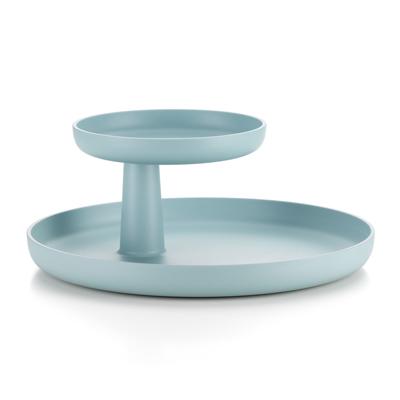 Rotary Tray 轉一轉雙層盤(冰灰藍)