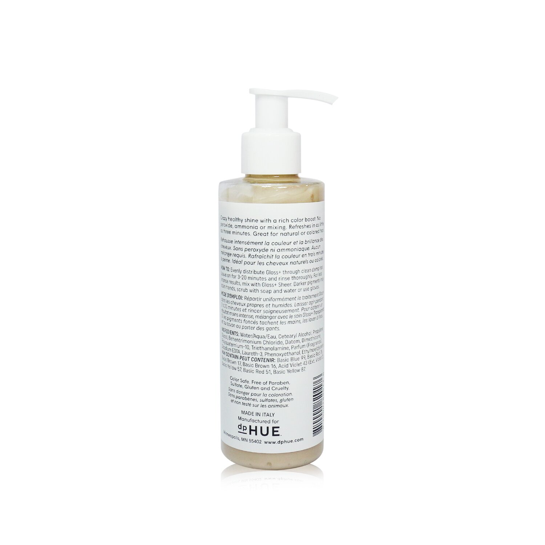 dpHUE - 光澤+半永久染髮劑和深層護髮素-#淺金