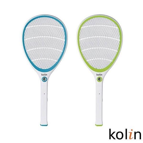 【南紡購物中心】【1入組】Kolin歌林 KEM-SH09 18650電池充電式電蚊拍(顏色隨機出貨)