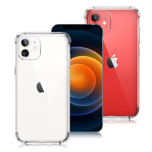 AISURE for iPhone 12 Mini 5.4吋 安全雙倍防摔保護殼