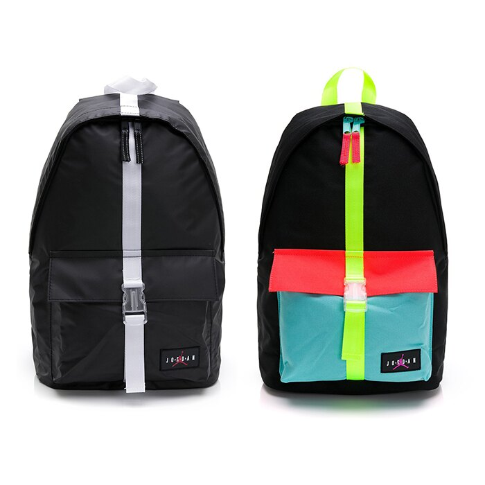 NIKE JORDAN 雙肩包 後背包 筆電 夾層 防潑水 喬丹 JD2023006GS 黑/彩色
