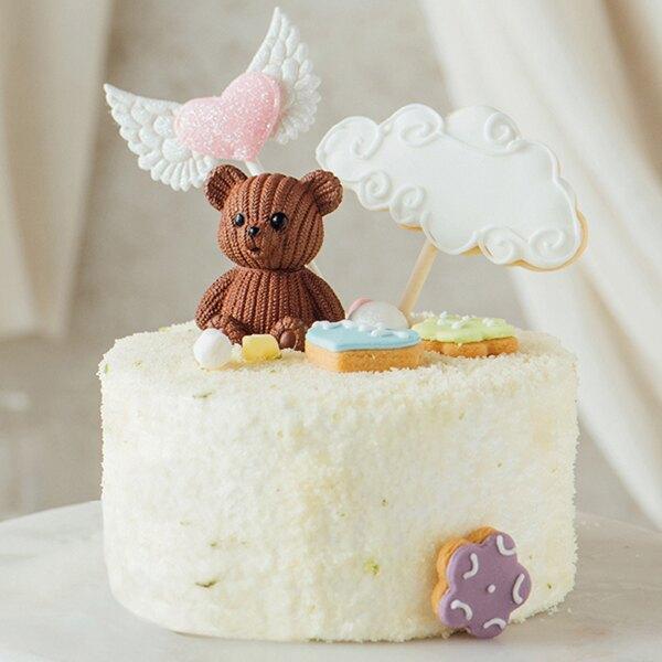 天使的祝福 4吋【PATIO帕堤歐】10個~19個389元/4吋/團購美食/生日蛋糕/彌月蛋糕/乳酪蛋糕/檸檬蛋糕