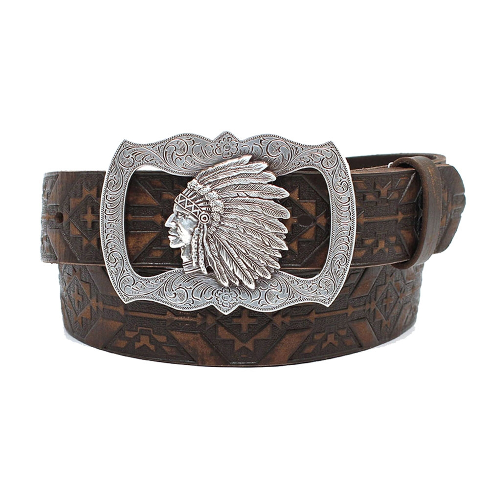 Angel Ranch Sanded Aztec Belt - Women's Belt