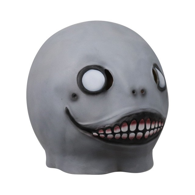 PS4遊戲NieR:自動機埃米爾面具Cosplay道具萬聖節恐怖乳膠曼面具
