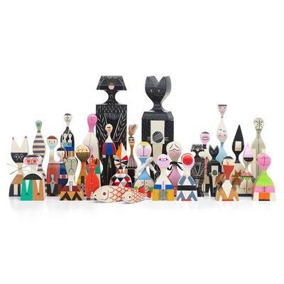 Wooden Doll 手繪常民藝術木偶 全系列珍藏組(共28款)
