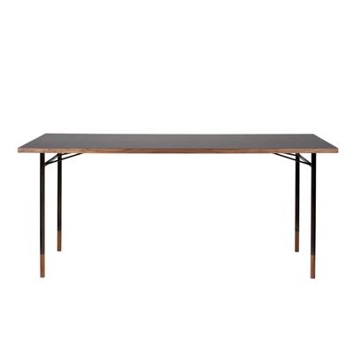 Nyhavn Desk 工作桌(黑油布桌面)
