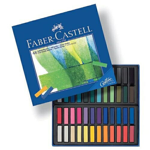 Faber-Castell軟性粉彩系列短型48色*128248