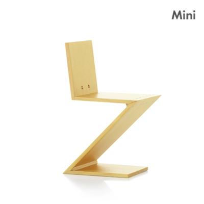 迷你收藏模型/Zig Zag Stoel 單椅