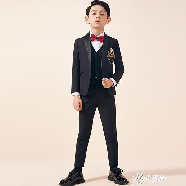 兒童西裝套裝帥氣三件套花童小西裝英倫男童禮服中大童鋼琴 YYS【快速出貨】