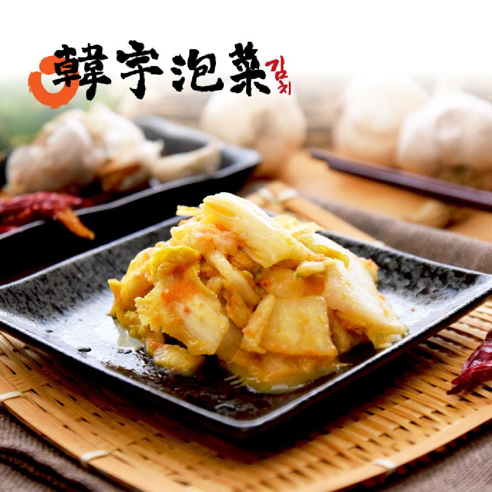 《韓宇》黃金泡菜(600g/罐,共兩罐)