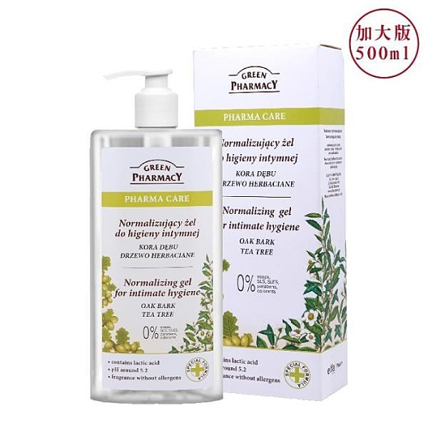 【南紡購物中心】【Green Pharmacy草本肌曜】茶樹平衡水嫩私密潔膚露 500ml(加大版)