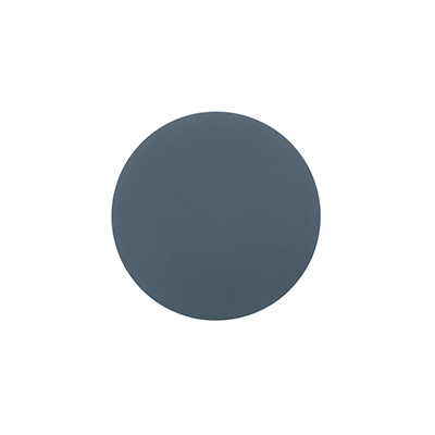 NUPO 皮革杯墊(圓形、深藍)