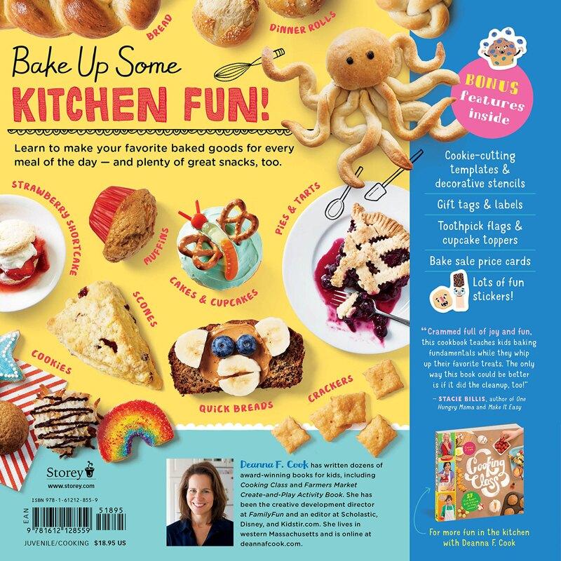 2018/2019 美國得獎作品 Baking Class: 50 Fun Recipes Kids Will Love to Bake! (Cooking Class) Spiralbound Il