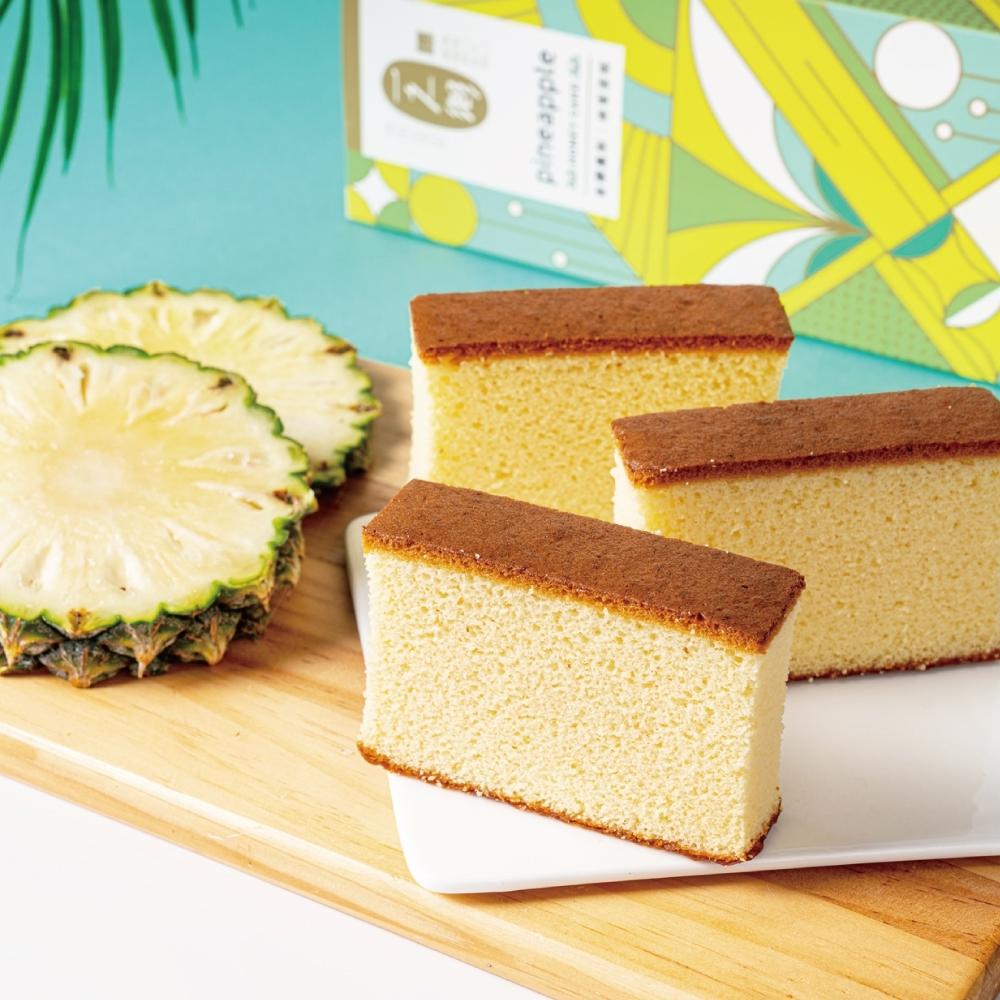 【一之鄉】 金鑽鳳梨蜂蜜蛋糕