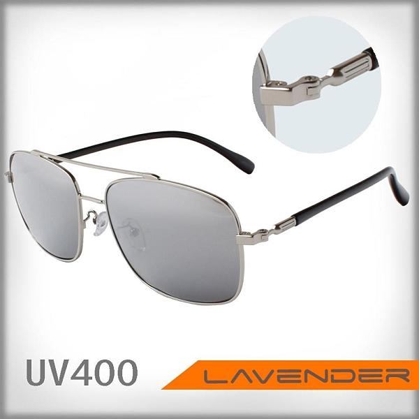 【南紡購物中心】Lavender偏光片太陽眼鏡 J3063 C4 白水銀