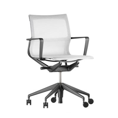 Physix 翩然有序 工作椅(黑框架、白椅身)