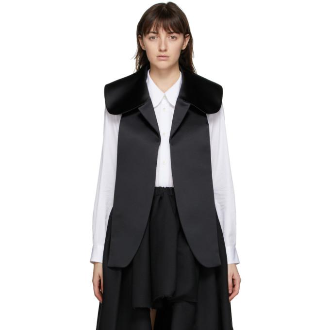 Comme des Garcons Comme des Garcons 黑色 Deconstructed 衬衫