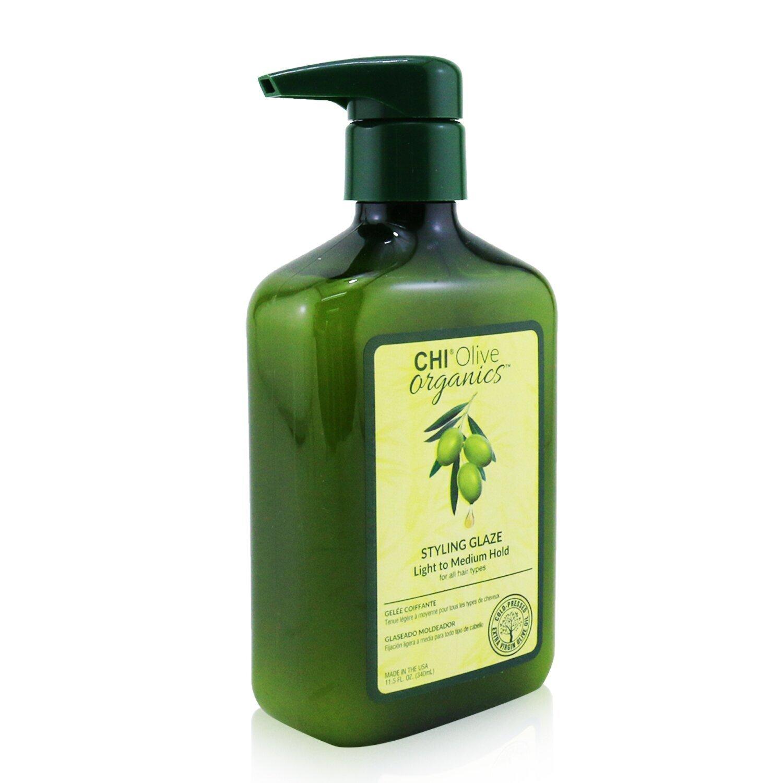 CHI - 橄欖有機造型啫喱 (輕至中度定型 - 所有髮質)