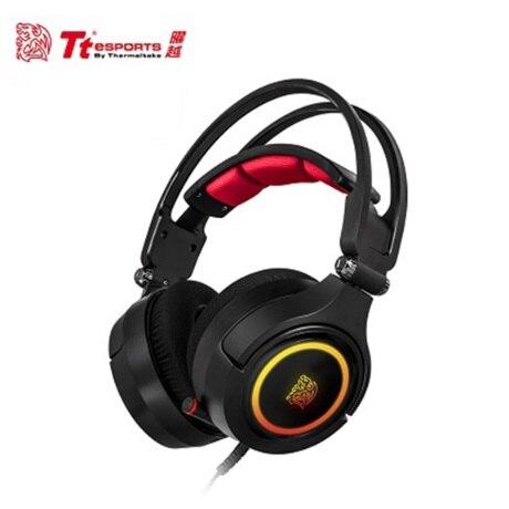 [富廉網]【Tt eSPORTS 曜越】克諾司 Riing 7.1聲道 RGB 電競耳機 (HT-CRA-DIECBK-20)