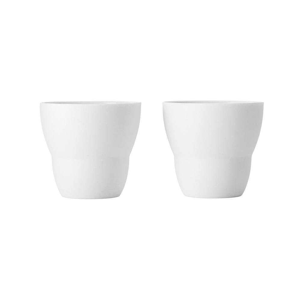 VIPP 拿鐵咖啡杯(白、二入一組)