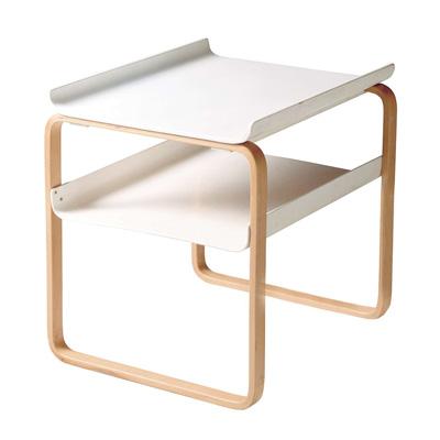 Side Table 915 雙層邊桌(白)