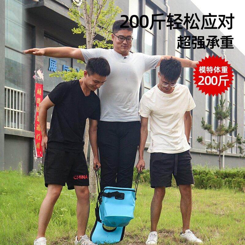 漢鼎活魚桶裝魚箱釣魚桶魚護桶 eva折疊