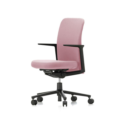 Pacific Chair 太平洋辦公椅(低背、煙燻粉)