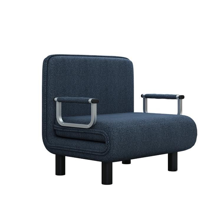 【快速出貨】可折疊沙發床兩用多功能1米1.5米雙人折疊床單人家用客廳小戶型 七色堇 新年春節  送禮