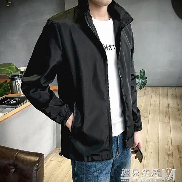 男士外套春季新款韓版潮流工裝潮牌百搭棒球衣服春秋流行夾克 雙十一全館免運