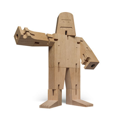 Mr B 百變橡木機器人