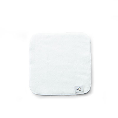 Minus Degree 降溫涼感手巾(白)