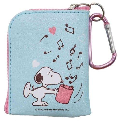 史努比SnoopyL型零錢包,長錢包/錢包袋/短夾/長夾/中夾/零錢包/皮夾,X射線【C297921】