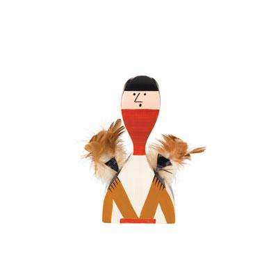 Wooden Doll 手繪常民藝術木偶 No.10