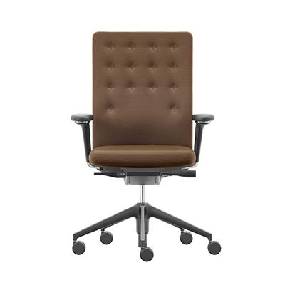 ID Trim 全能筆挺辦公椅(中背、咖啡棕)