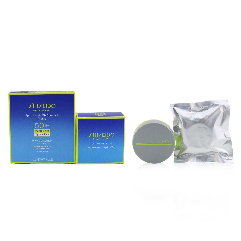 資生堂 Shiseido - Sports HydroBB Compact SPF 50 粉底 (盒+補充裝)