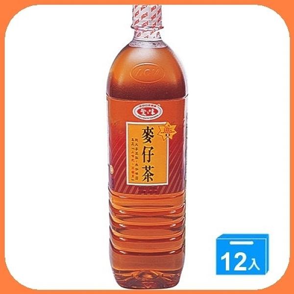 【免運】愛之味麥仔茶1.5L*12瓶/箱【合迷雅好物超級商城】