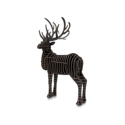公鹿(黑、未組裝版)