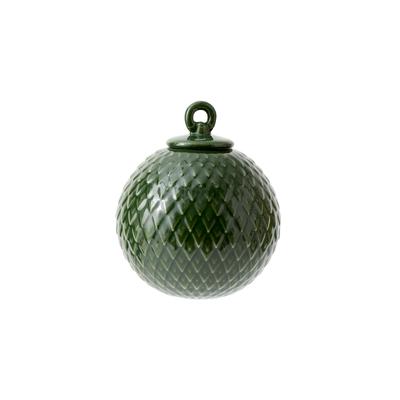 Rhombe 菱紋 吊飾(墨綠)