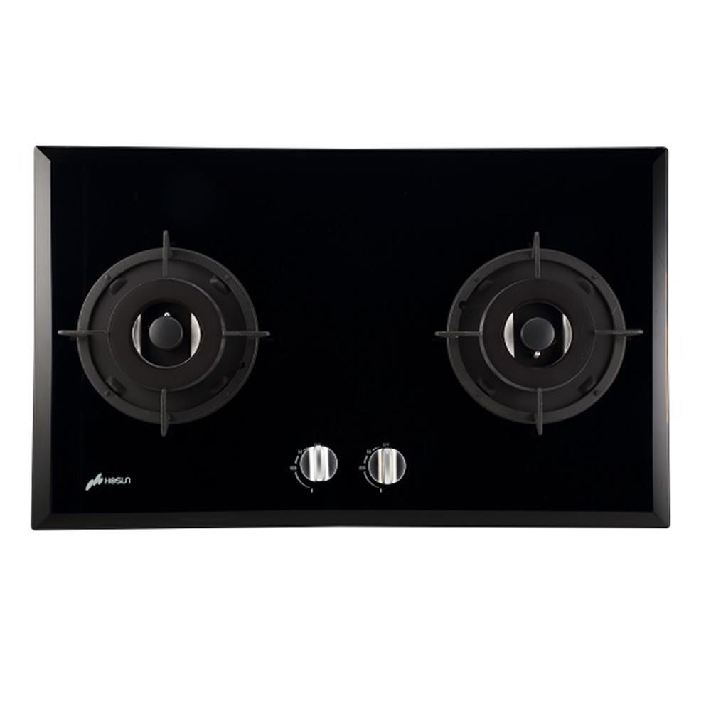 【豪山】雙口歐化玻璃檯面爐 (SB-2202)
