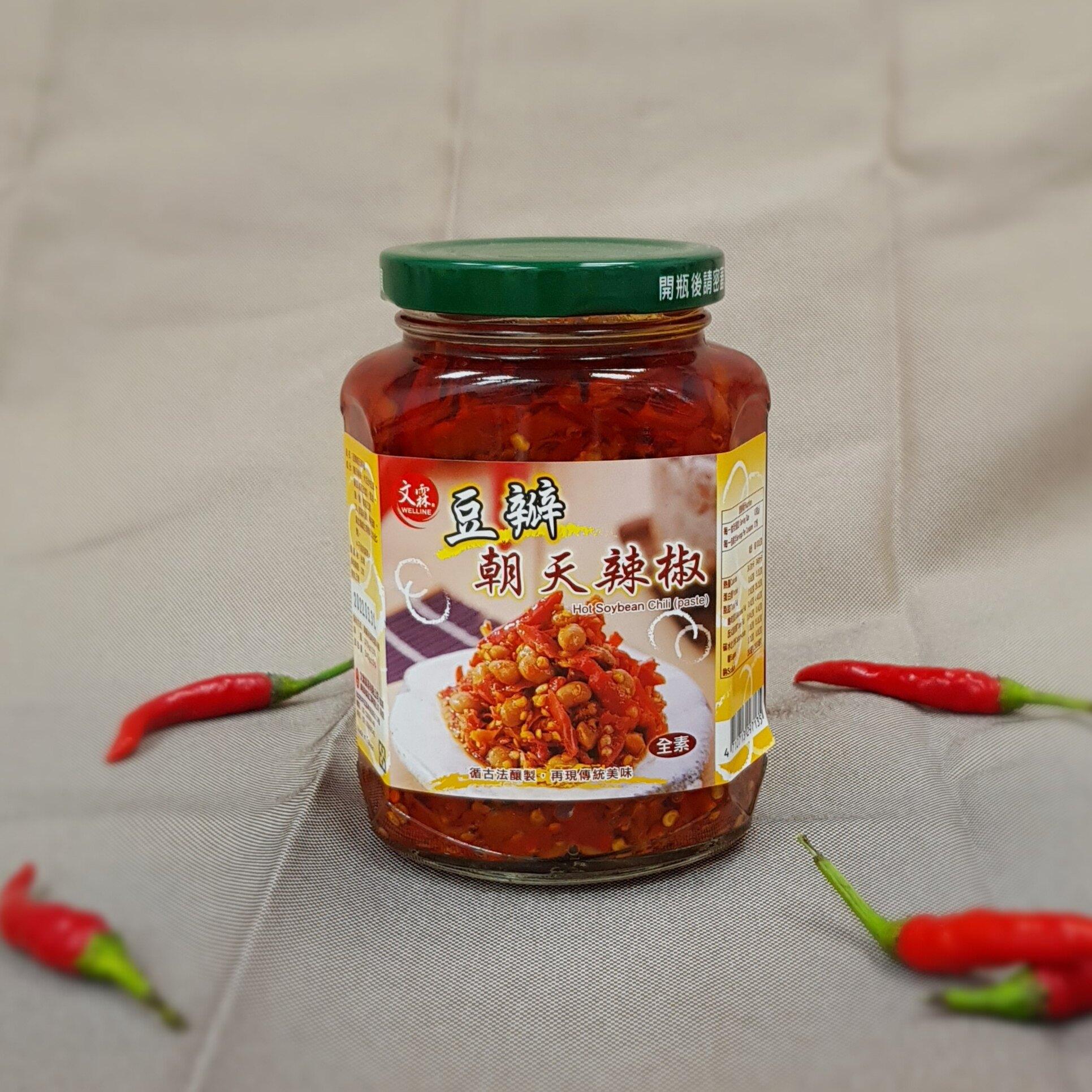 朝天辣椒罐-豆瓣辣370g    夫婦雜貨店