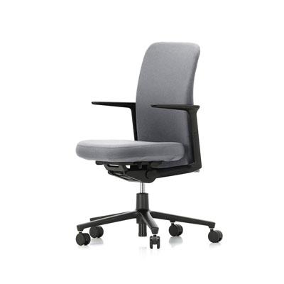Pacific Chair 太平洋辦公椅(低背、率性灰)
