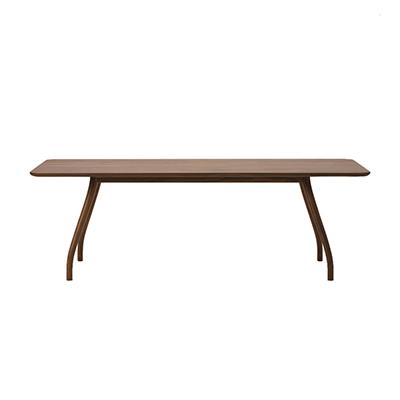 Tako 弧線枝木長桌(胡桃木、200cm)