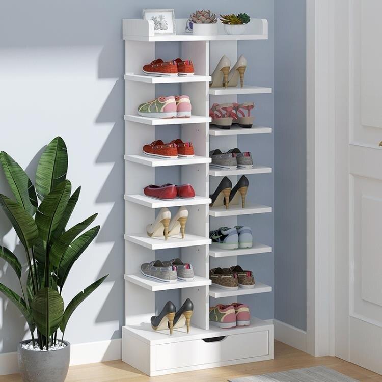 鞋架 鞋架子簡易門口放置物架家用室內好看多層經濟型防塵小型收納鞋櫃