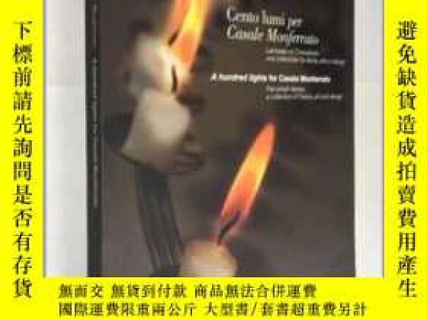 二手書博民逛書店A罕見Hundred Lights for Casale Monferrato:Hanukkah Lamps:A
